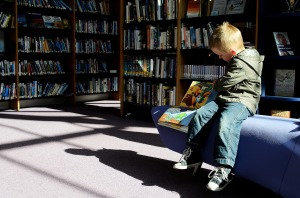 Author: child and books by george hodan