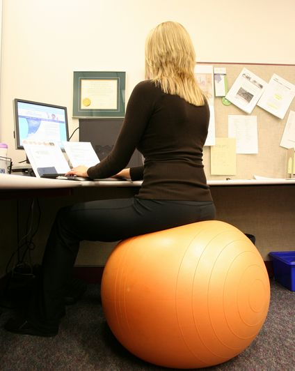 Exercise-Ball-Office-Chair-Paper-Notes