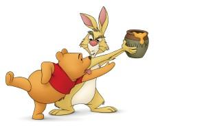 Pooh-Rabbit-Winnie-the-Pooh-Wallpaper