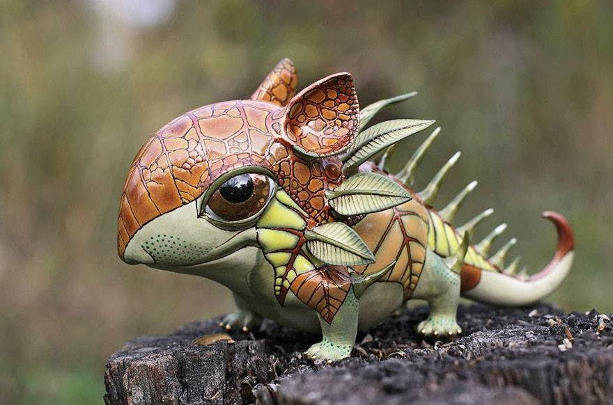 fantasy creatures tiny creature porcelain animals animal cute fantastical sculpture anya artists sculptures artist ceramic figurines fairy artwork fantastic stasenko