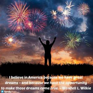 July-Believe in America